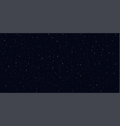 Detailed realistic night starry blue sky vector