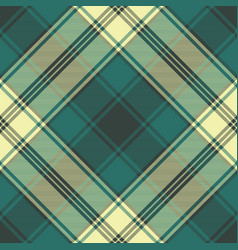 Green classic plaid seamless pattern vector