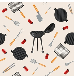 Grill Barbecue Seamless Pattern vector