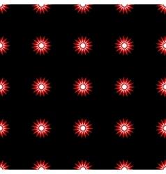 Stars geometric seamless pattern 405 vector image