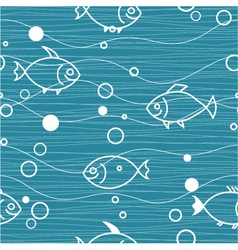 water seamless vector image