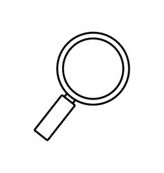 Search technology tool optical outline vector