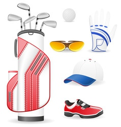 golf 13 vector image vector image