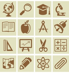 Design elements for school and university vector