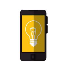 bulb light icon vector image