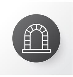 Fireplace icon symbol premium quality isolated vector
