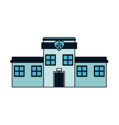 Hospital building icon image vector