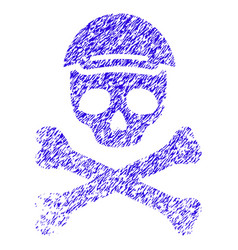 Mortal skull icon grunge watermark vector