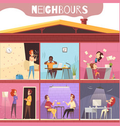 Neighbors irritation vector