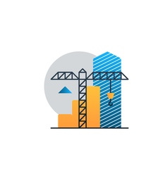 Real estate investment under construction income vector