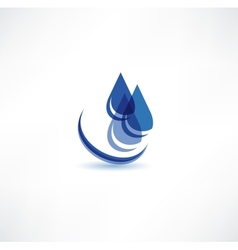 Water Drop Symbol vector