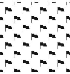 Waving flag pattern vector