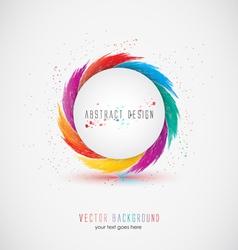 abstrac design vector image vector image