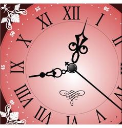 Analogue clock vector image