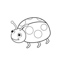 Bug toy vector
