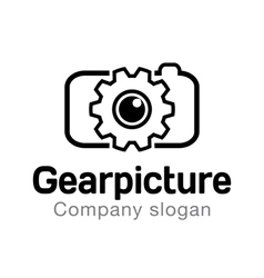 Gear Picture Design vector image
