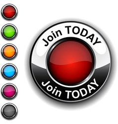 Join today button vector