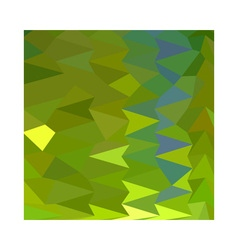 June Bud Green Abstract Low Polygon Background vector