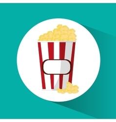 Por corn cinema and movie design vector