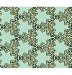 Seamless abstract kaleidoscope pattern vector image