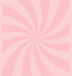 Simple sweet candy pink swirl background vector
