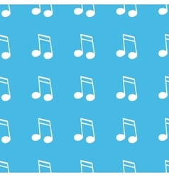 Sixteenth note straight pattern vector