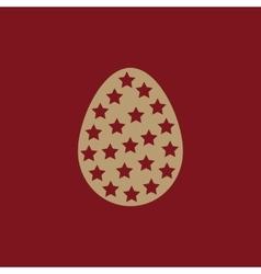 The Easter icon Easter egg symbol UI Web Logo vector