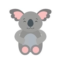 cute cohala animal icon vector image vector image
