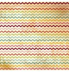Vintage Chevron Pattern vector image vector image