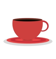 cup coffee isolated icon design vector image