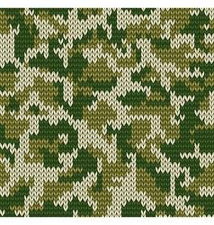 Digital camouflage pattern vector image