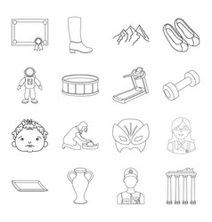 Fitness sports education and other web icon in vector