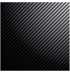 Metal dark striped background vector