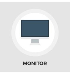 Monitor icon flat vector image