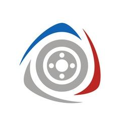 racing-logo vector image