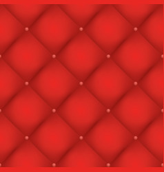 red quilted seamless pattern vector image