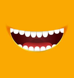 Smile constructor cartoon smiley emoticon emoji vector
