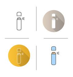 Spray antiperspirant icon vector