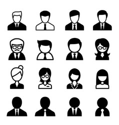 staff icon vector image
