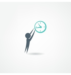 watchmaker icon vector image