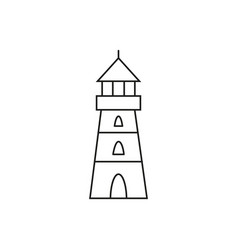 lighthouse of icon vector image