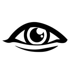 Eyes design vector image