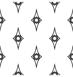 Rhombus geometric seamless pattern 805 vector image