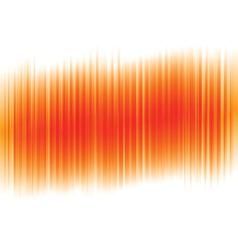 abstract orange vertical stripe backdrop vector image vector image