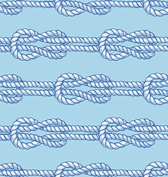 Engraved sailor knot vector image