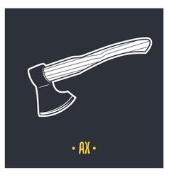 ax vector image