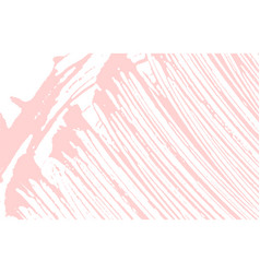 Grunge texture distress pink rough trace fabulou vector