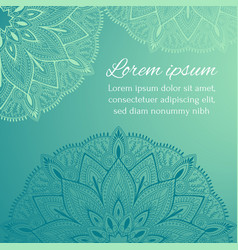 invitation greeting card congratulation vector image