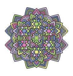 Mandala flower 1 vector