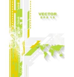 Minimal technology flat grunge background vector image